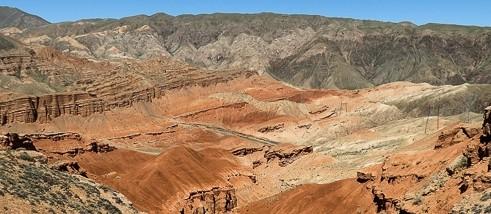 Kirgizie Boom gorge
